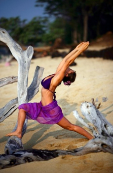 Yoga model: Nadia Toraman Photo: Coe Huston