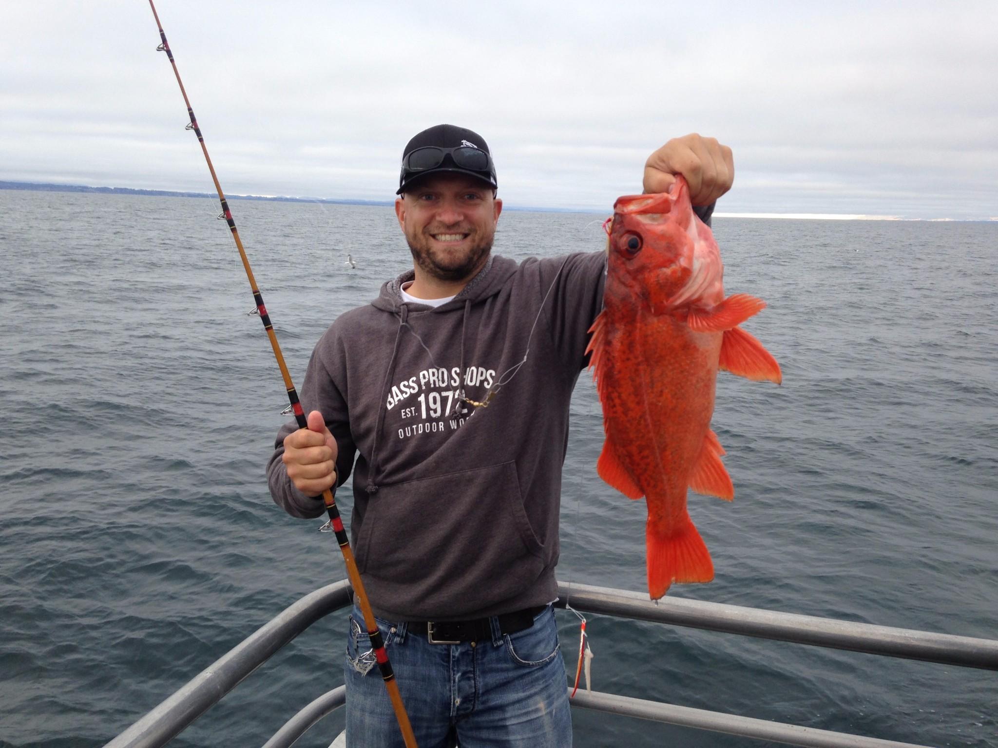 Summer fishing santa cruz waves for Santa cruz fishing report