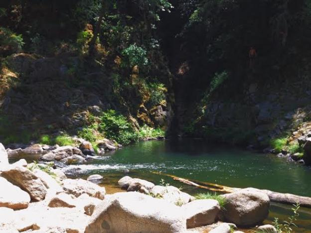 The Garden Of Eden Sc S Best Swimming Hole Santa Cruz Waves