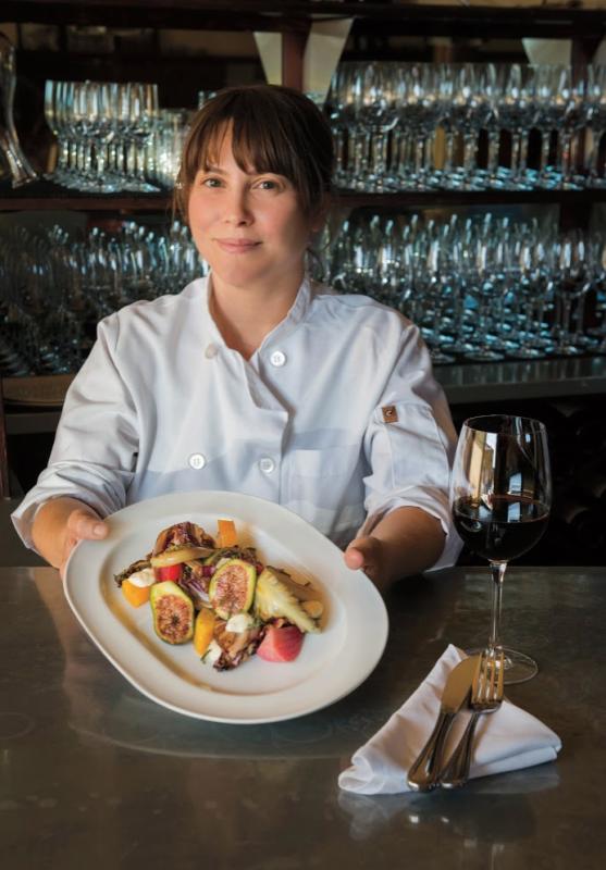 Chef Katherine Stern. Photo: Neil Simmons