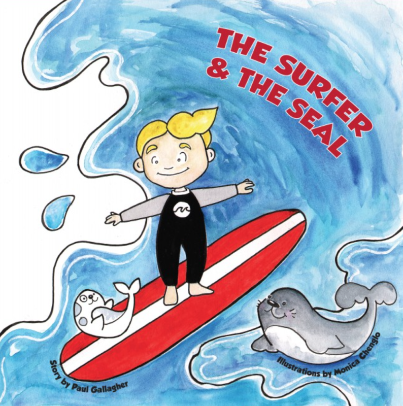 A new book by Paul Gallagher teaches youth to cultivate greater connections with the ocean and its inhabitants