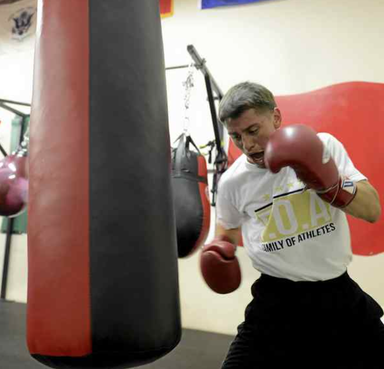 "Salinas boxer Ruben ""Dracula"" Villa, 18, is favored to qualify for the U.S. Olympic team."