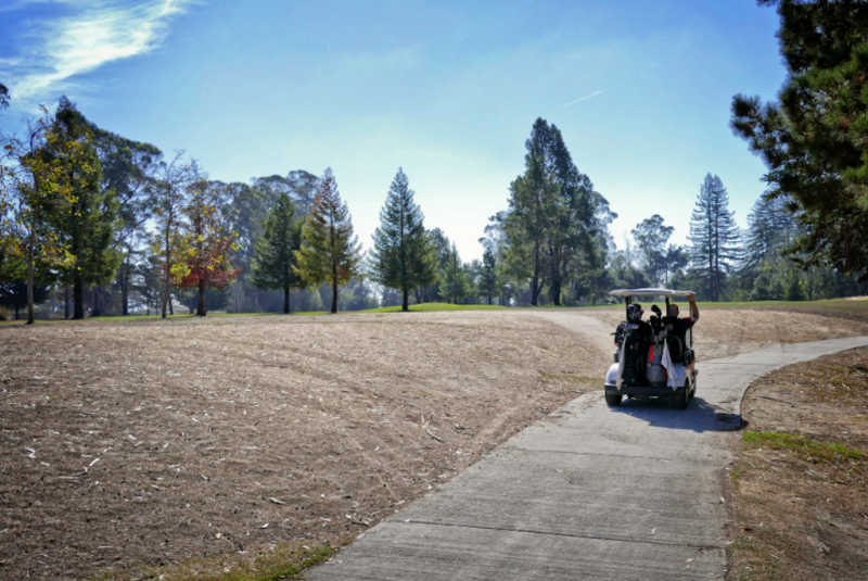 """""""It is up to the player to adjust his or her golf game in accordance to the conditions."""" - Eddie Duino, PGA teaching professional. Photo by Paul Topp"""