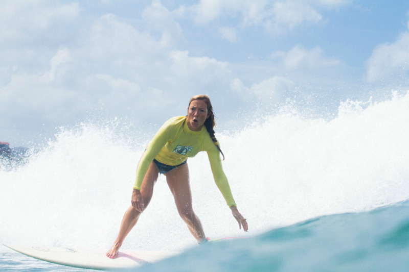 One woman's solo surf trip through Central America and Mexico.