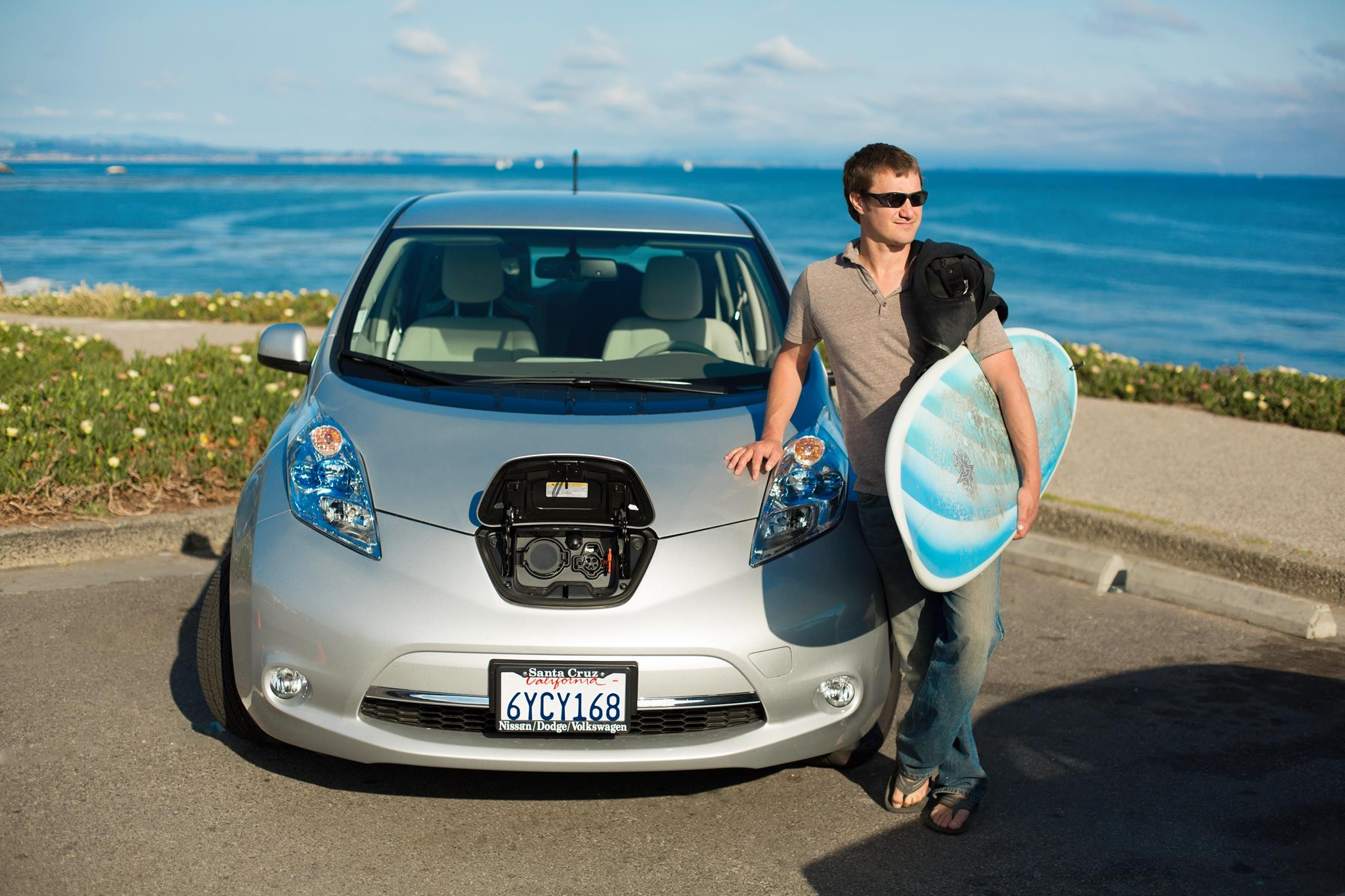 Rebates for 238 mile ev could help santa cruz carbon footprint santa cruz waves